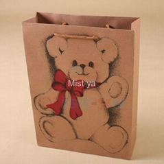 Paper Shopping Bags Made of 210GSM Kraft Paper(MH1460)
