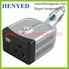 100W car inverter with USB socket(HYD-100RU)