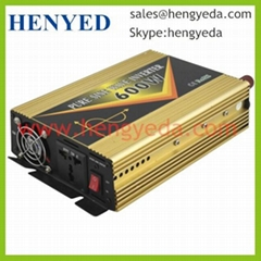 600W DC to AC Pure Sine Wave solar Power Inverter