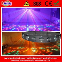 476pcs 5mm RGBWY LEDs 7 Lens Effect Stage LED Light