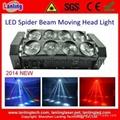 LHGS80W-RGBW 8*10W RGBW Moving Head