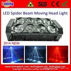 LHGS80W-RGBW 8*10W RGBW Moving Head Spider LED Light