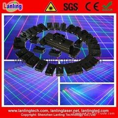 LN5460 5900mW RGB 32-Head Mobile Fat-Beam Laser Net
