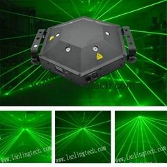 L26300G 300mW Green 6lens TurtleLight