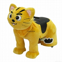 high quality electric plush toy walking animal zippy rides for sale