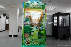 Forest Treasure plush mini toy gift coin operated vending claw game machine