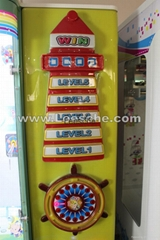 light house electronic coin operated used equipment toy crane claw game machine