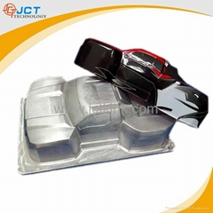 Premium aluminum car mould for toy car blister packaging tray