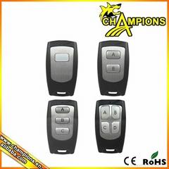 China Factory Supplied Universal Garage Door 315mhz  RFWireless Remote Control