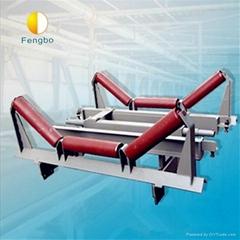 Flexible electronic belt scale in conveyor