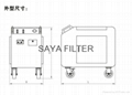 SAYA Manufacturer Supply High Quality Box-Type Movable Oil Purifier 3