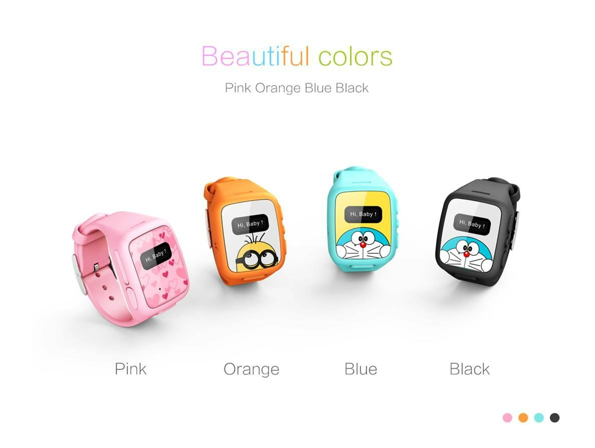 Kids smart watch with gps and phone function kids watch wherecom china manufacturer for Watches with gps