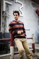 Bemme stripe nice sweaters for men 1