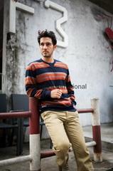 Bemme stripe nice sweaters for men