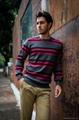 Bemme stripe nice sweaters for men 2