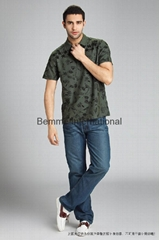 High quality short sleeve polo mens t shirt 2014