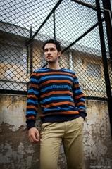 Stripe pullover fashion men sweaters