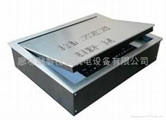 廊坊融智視通工廠直供電腦桌18.4液晶屏電動翻轉一體機