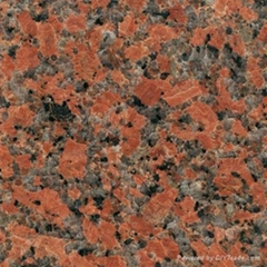 Maple-Leaf Red G562 Granite Slabs