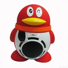 QQ Speaker Portable QQ Speaker With Bluetooth Guitar Input Good Quality
