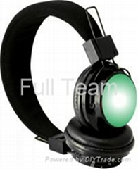 Factory Directly Headphone Style Earphone with Bluetooth