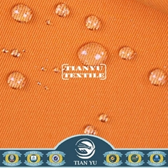 Polyester Cotton Twill Dyed Teflon Coated Waterproof Fabric