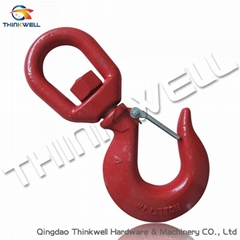 Forged Steel Galvanized Eye Swivel