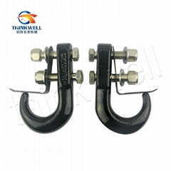 Tow Hook with Keeper for Car
