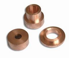 Copper tungsten alloy electrode