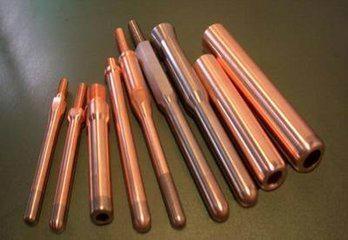 Copper tungsten alloy electrode 3