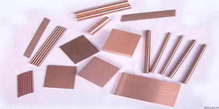 Copper tungsten alloy electrode 5