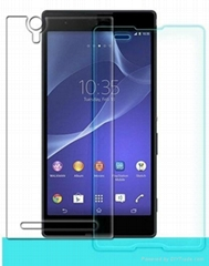 9H 0.33mm Anti- scratch screen protector For Sony Xperia T2 Tempered Glass scree