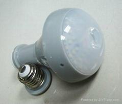 rechargeable creative magnetic adjustable led bulb Emergency light