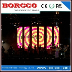 Stage Rental Indoor Led Video Curtain Screen