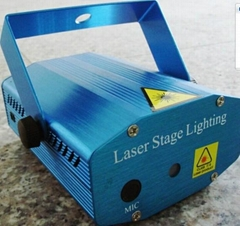 24 In 1 Mini Laser Stage Light With Remote