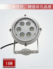 供應LED投光燈18W