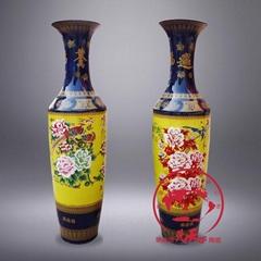 景德镇制青花瓷大花瓶