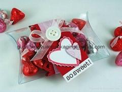 gift box wholesale clear PVC box