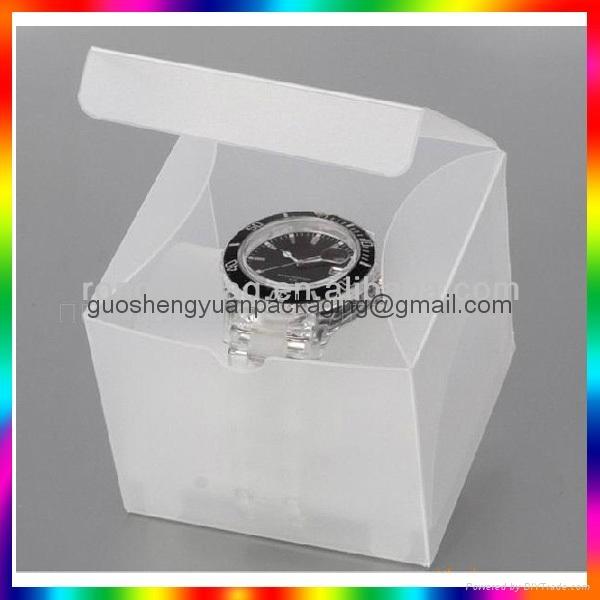 clear PP pet pvc hanger box 2