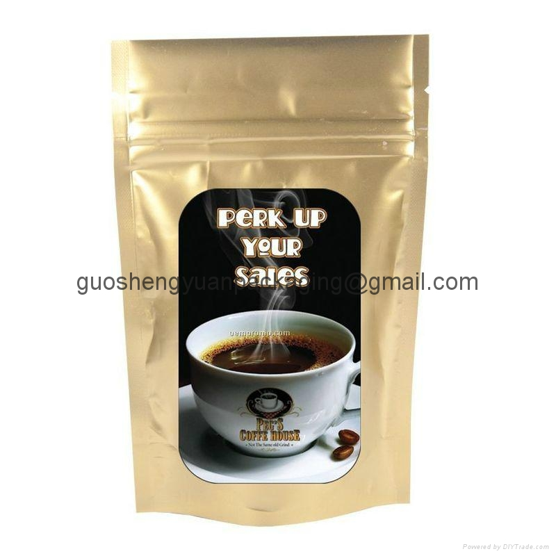 plastic bag coffee bag stand up pouch 3