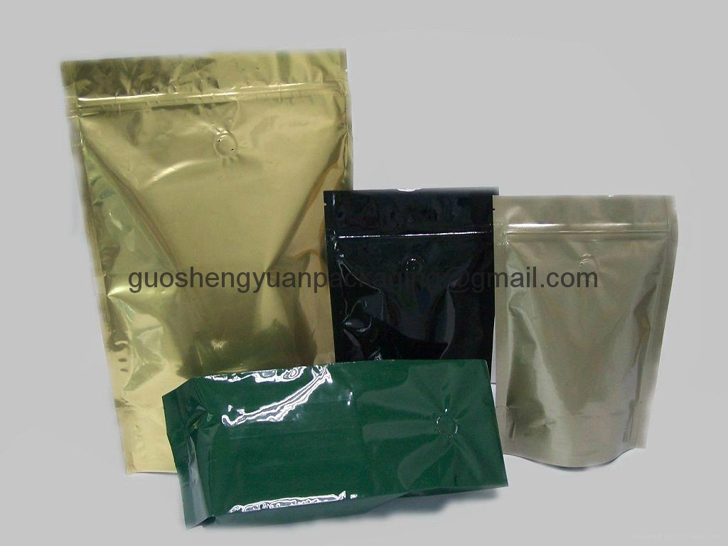 plastic bag coffee bag stand up pouch 5