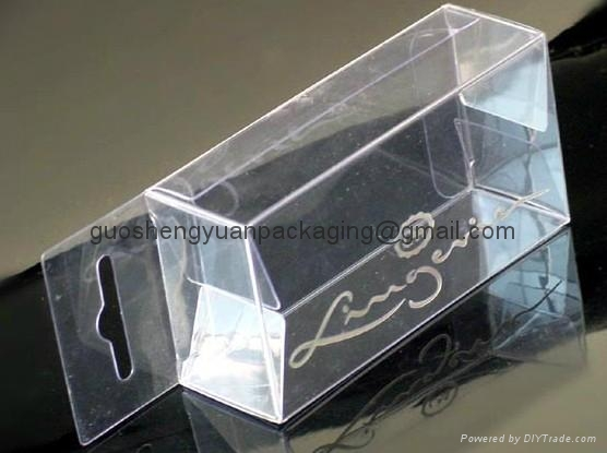 Transparent packaging Box 1