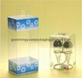 Transparent packaging Box 3