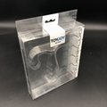 China clear plastic rectangular boxes