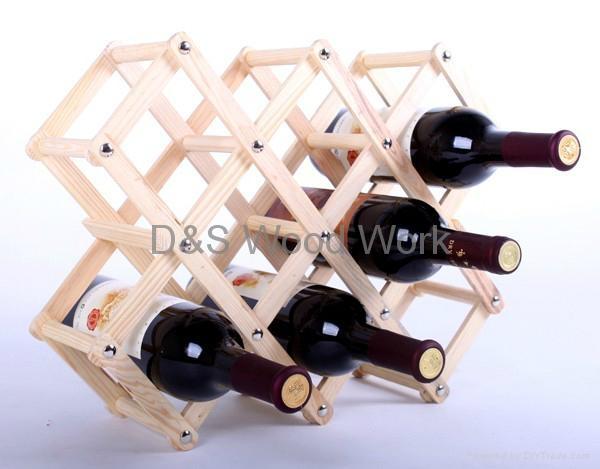 wooden wine shelf 3