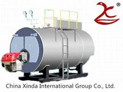 Horizontal Fuel/Gas fired Boiler