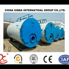 1-20t/h WNS series steam capacity gas and oil fuel gas boiler oil boiler