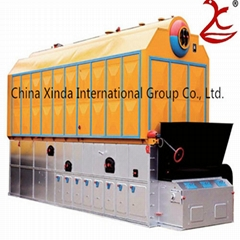 ISO standard energy saving coal fired chain great hot water boiler for school/ho