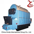 Economical and high efficiency automatic biomass wood pellet fired steam boiler