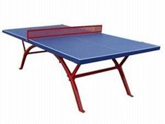 室外SMC乒乓球台耐腐蝕耐撞擊防晒